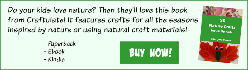 50 Nature Crafts Book for Little Kids