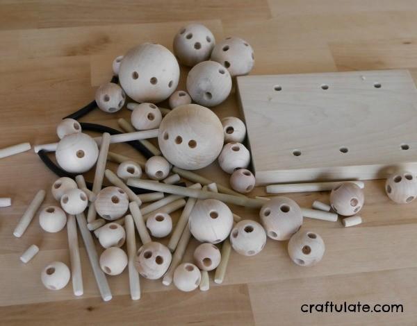 Ballinko - a new wooden construction toy