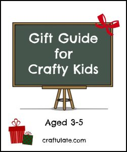 Gift Guide for Crafty Kids 3-5