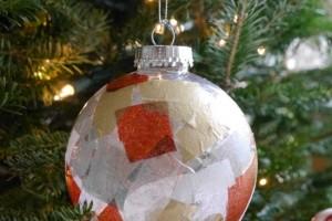 Tissue Paper Ornaments