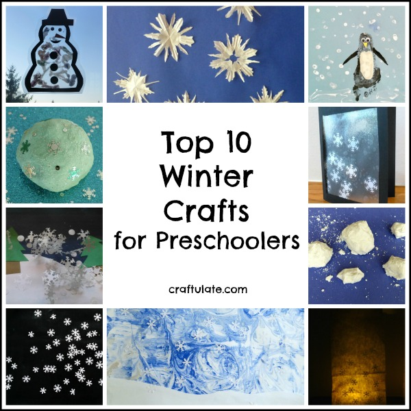 top 10 winter crafts for preschoolers