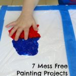 7 Mess Free Painting Projects