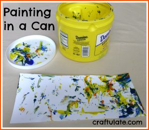 Painting in a Can