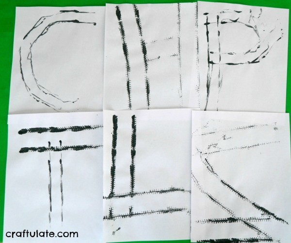 Writing the Alphabet with Vehicles - kids will love this letter formation activity!