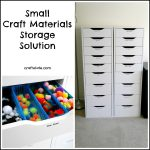 Small Craft Materials Storage Solution