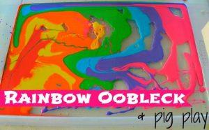 Rainbow Oobleck