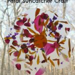 Petal Suncatcher Craft