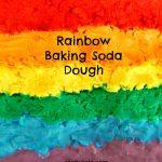 Rainbow Baking Soda Dough