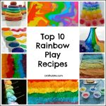 Top 10 Rainbow Play Recipes