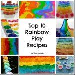 Top 10 Rainbow Play Recipes