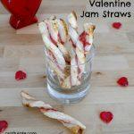 Valentine Jam Straws