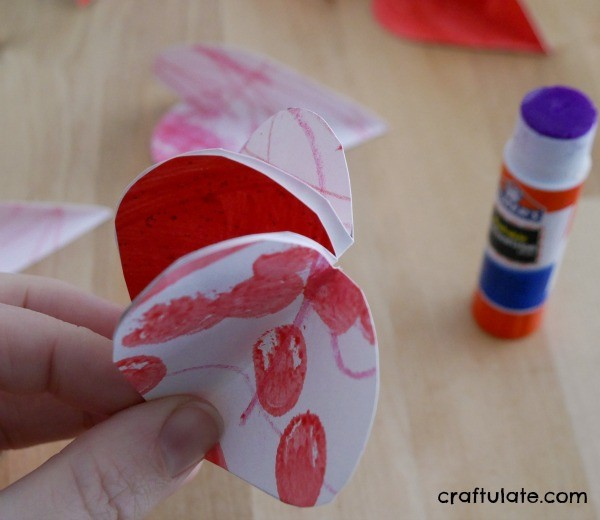 Valentine Ornaments from Kids' Artwork - a cute craft for mixed ages!