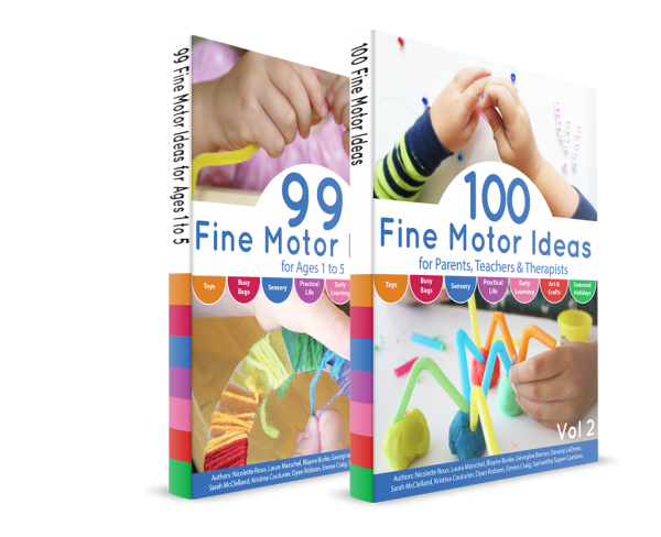 99 & 100 Fine Motor Ideas Ebook Bundle