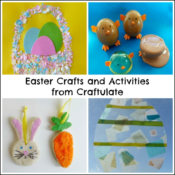 Easter Crafts and Activities from Craftulate
