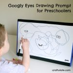 Googly Eyes Drawing Prompt for Preschoolers