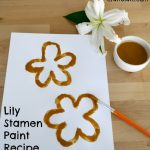 Lily Stamen Paint Recipe