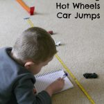 Measuring Hot Wheels Car Jumps