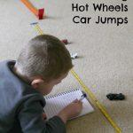 Measuring Hot Wheels Car Jumps
