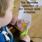 Ultimate Collection of 45+ Scissor Skills Activities
