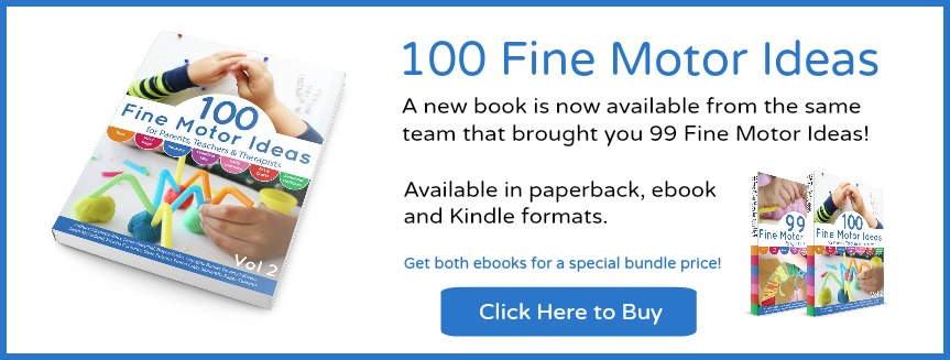 100 Fine Motor Ideas - the book