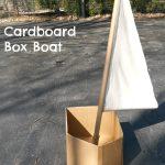 Cardboard Box Boat