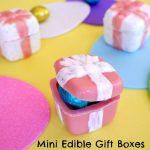 Mini Edible Gift Boxes