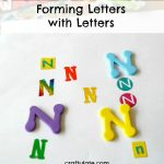 Forming Letters with Letters