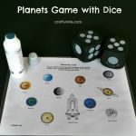 Planets Game with Dice