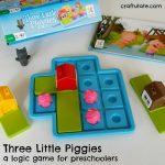 Three Little Piggies – a logic game for preschoolers