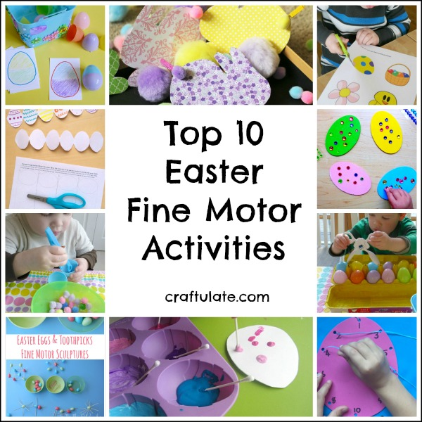 Top 10 Easter Fine Motor Activities