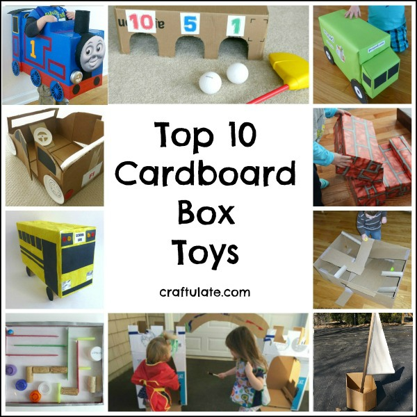 Top 10 Cardboard Box Toys that kids will love!