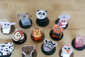 Accordion Paper Animals