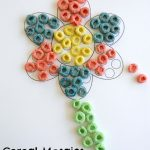 Cereal Mosaics with Fruit Rings