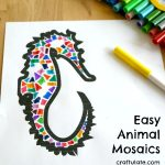 Easy Animal Mosaics