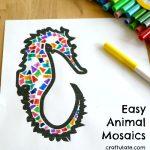 Easy Animal Mosaics