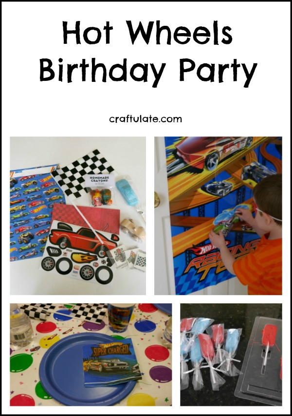 Hot Wheels Birthday Party - party favor bags, games, tableware, costumes, treats, and more!