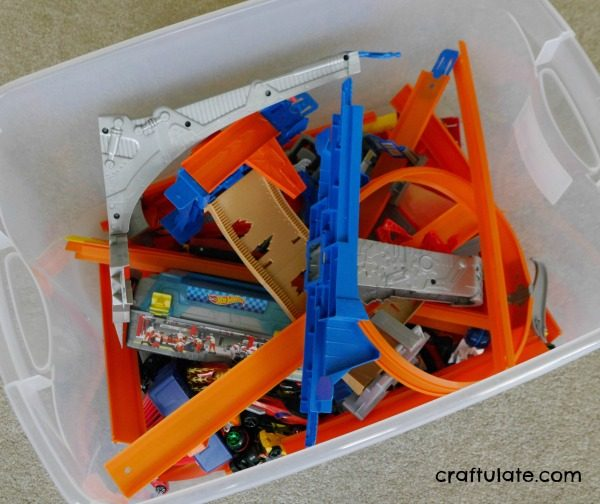 Hot Wheels Car Storage Solutions