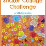 Spring Sticker Collage Challenge