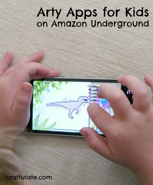 Arty Apps for Kids on Amazon Underground