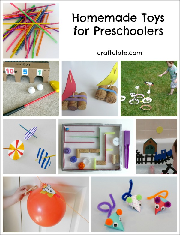 Homemade Toys for Preschoolers