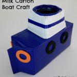 Milk Carton Boat Craft