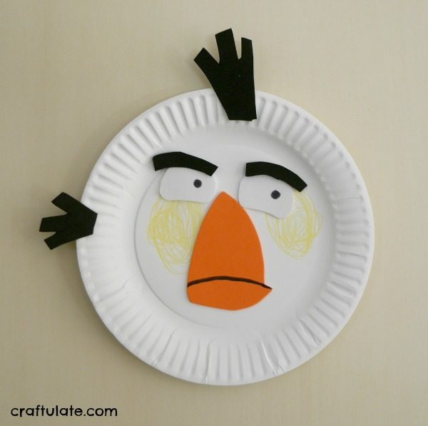 Angry Birds Paper Plates - a fun craft for kids to make! & Angry Birds Paper Plates - Craftulate