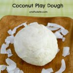 Coconut Play Dough