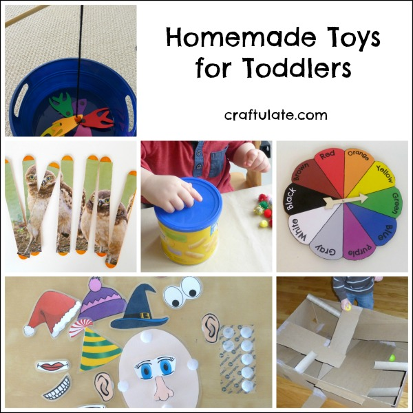 Homemade Toys for Toddlers