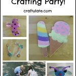 Host a Summer Crafting Party!