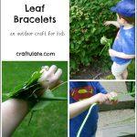 Leaf Bracelets