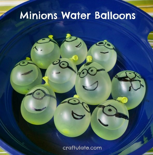 Minions Water Balloons - hilarious summer fun for kids!