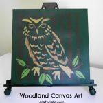 Woodland Canvas Art
