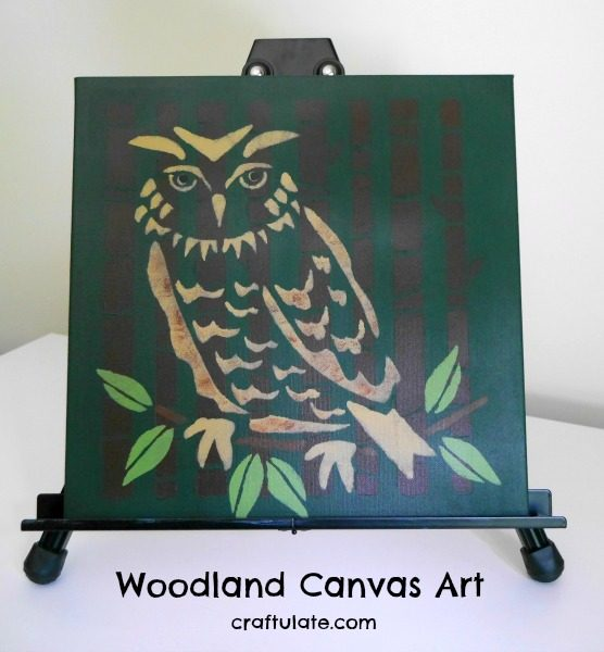 Woodland Canvas Art