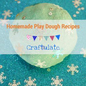 Homemade Play Dough Recipes Ebook
